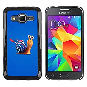LECELL -- Funda protectora / Cubierta / Piel For Samsung Galaxy Core Prime SM-G360 -- Fast Snail --