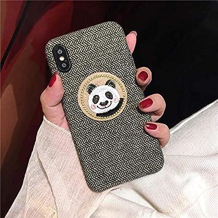 Amazon Com For Iphone Cute Cat Rabbit Panda Phone Case