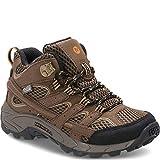 Merrell Boys' Moab 2 MID AC WTRPF Hiking Boot, Earth, 6 M US Big Kid