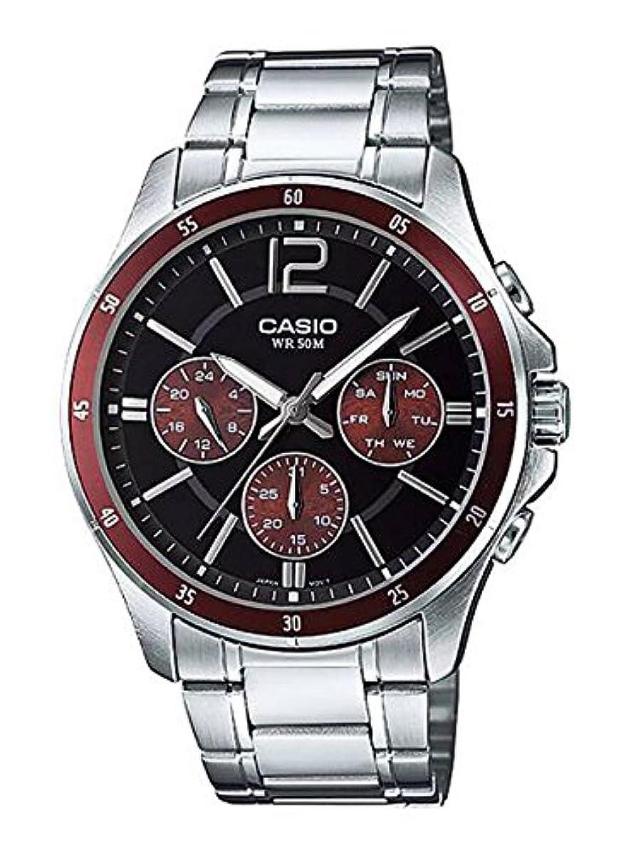 [해외] 【병행수입품】카시오 CASIO 손목시계 시계 STANDARD 스탠다드 아날로그 맨즈 MTP-1374D-5A