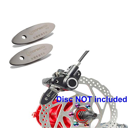 ONGHSD Bicycle Brake Pad Alignment Tool, 2PCS MTB Disc Brake Pad Adjusting Tool Bike Brake Rotor Pads Mounting Assistant Tools Adjust Spacer Mountain Bike Disk Repair Tool Cycling Accessories