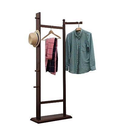 Amazon.com: GUAGOU - Perchero para ropa, estante de ...