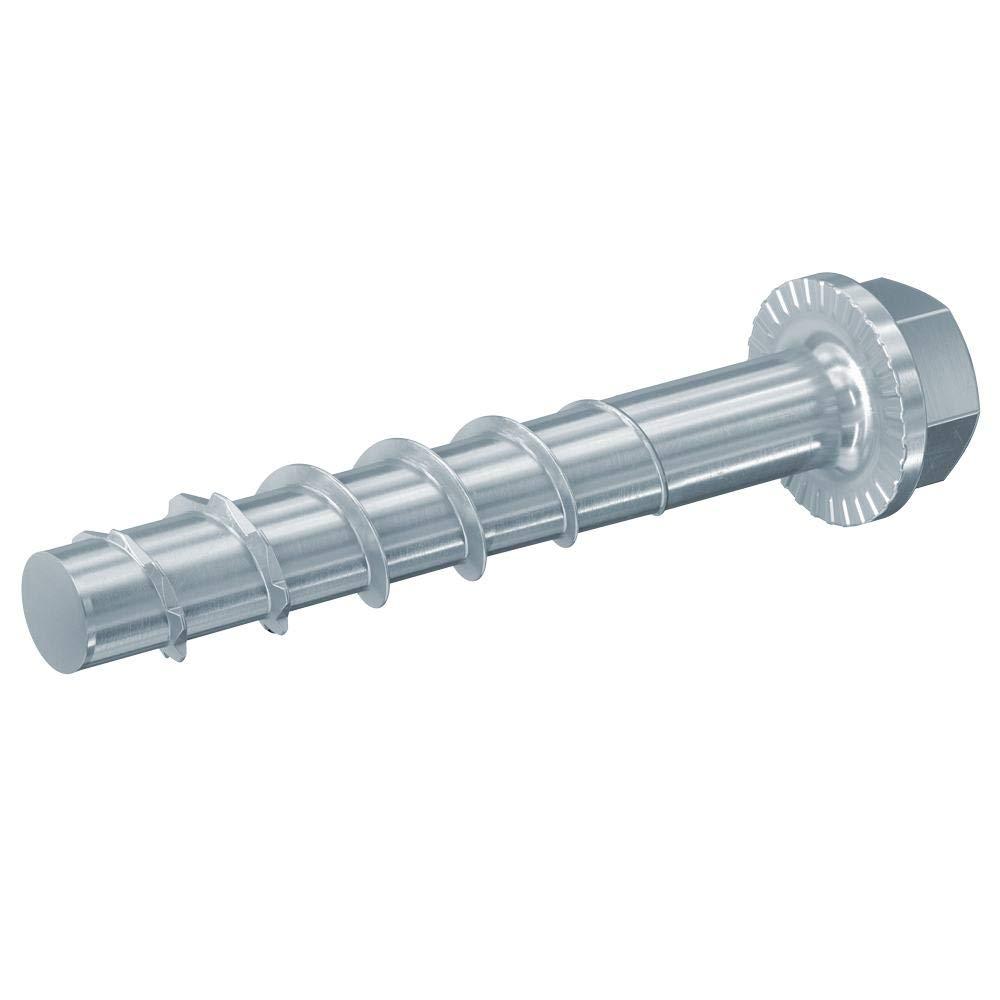 Metallprofilen fischer ULTRACUT FBS II 12x85 25//10//- US 20 St/ück Betonschraube zum Befestigen von Gel/ändern Regalanlagen in Beton 536870 Art.-Nr