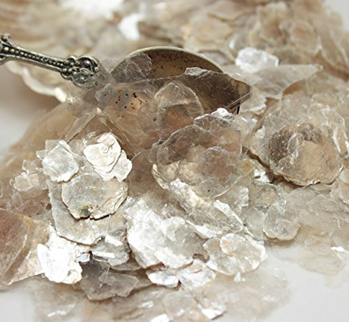 Clear - Pearl - Natural Mica Flakes - 311-4330 (One Pound Bulk) by Meyer Imports (Image #3)