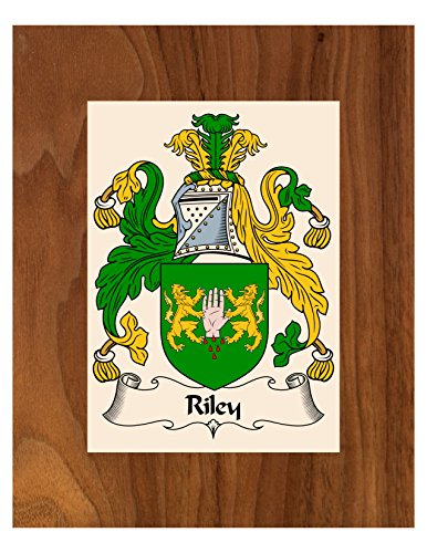 - Carpe Diem Designs Riley Coat of Arms/Riley Family Crest 8X10 Photo Plaque, Personalized Gift, Wedding Gift