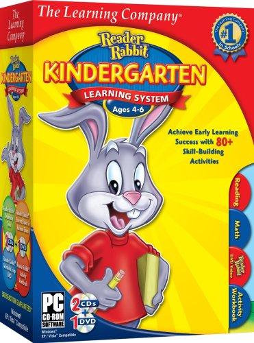 tlc-reader-rabbit-kindergarten-learning-system-2009-old-version