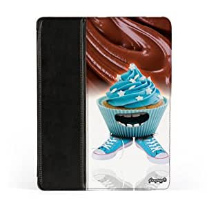MIMIMUFFINS-0002 Premium Faux PU Leather Case, Protective Hard Cover Flip Case for Apple? iPad 2 / 3 and iPad 4 by Gangtoyz + FREE Crystal Clear Screen Protector