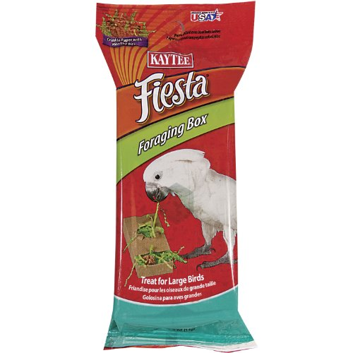 Kaytee Fiesta Foraging Box Shredded Paper, 1/2-Ounce, My Pet Supplies