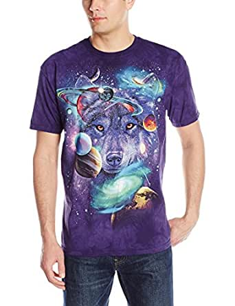 The mountain wolf of the cosmos t shirt clothing for Amazon review wolf shirt