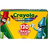 Crayola 526920 Crayola Crayons w/Sharpener 120/BX Ast - Best Reviews Guide