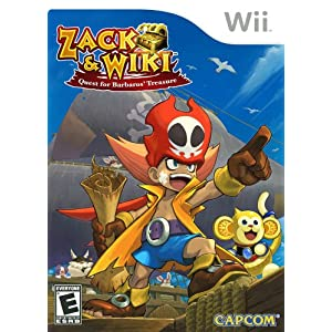 Zack & Wiki Quest for Barbaros' Treasure - Nintendo Wii