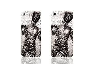 Vintage Star Wars Han Solo Carbonite 3D Rough Case Skin, fashion design image custom , durable hard 3D case cover for iPhone 5 5S , Case New Design By Codystore