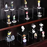 NIUBEE 2 Set Acrylic Risers Display for Funko POP