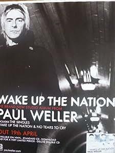Paul Weller–despertar el país–en prensa Póster