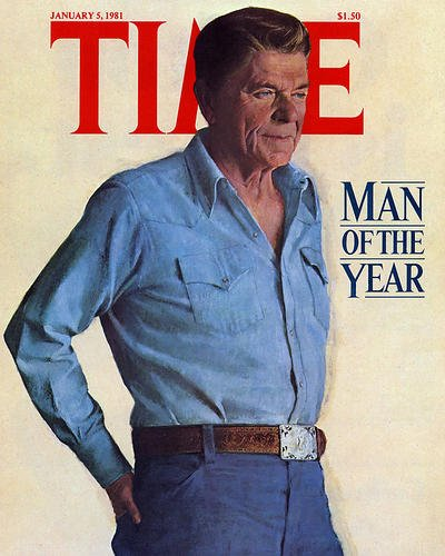 Ronald Reagan 11x14 Promotional Photograph famous Time magazine cover ()