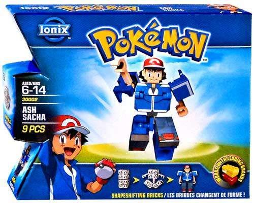 Ionix Pokemon Ash/Sacha By Spin Master 2