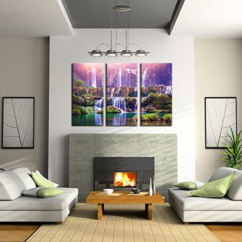 home, kitchen, wall art,  posters, prints 9 discount Kreative Arts Large Size 3 Pieces Peaceful Dreamlike promotion