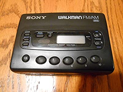 Sony Digital Walkman [Cassette] WM-FX28 by Sony