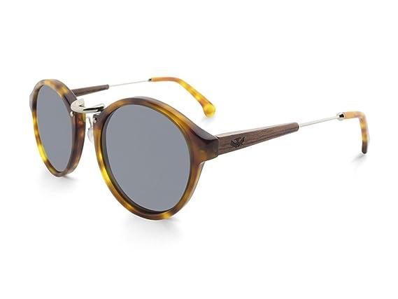 Gafas de Sol de madera MOSCA NEGRA modelo ICE X3 con lentes ...