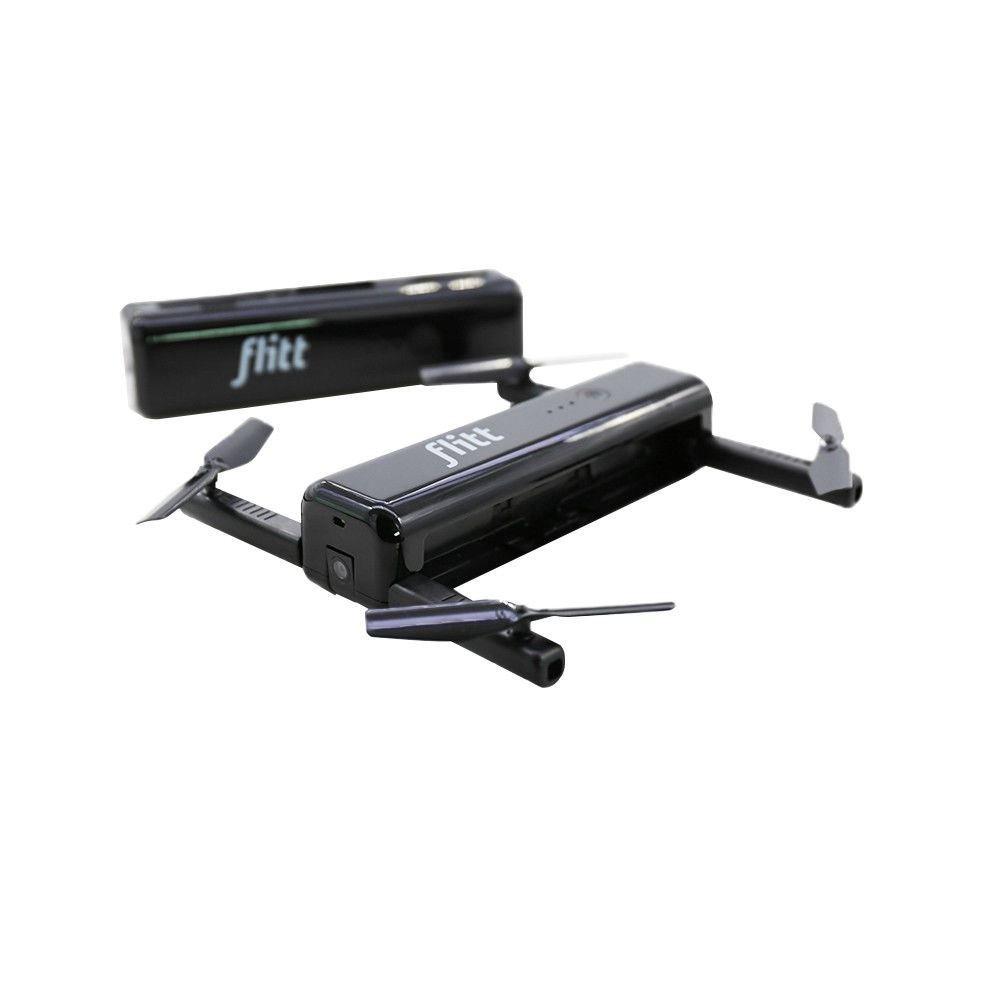REFURBISHHOUSE Flitt 720P WiFi FPV Optischer Fluss Positionierung Faltbare Tasche Portable RC Drone Quadcopter