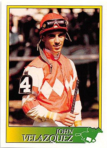John Velazquez trading card (Horse Racing) 1993 Jockey Star #50