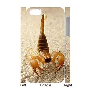 3D Bumper Plastic Case Of Scorpion customized case For Iphone 4/4s