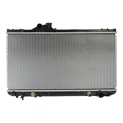 Radiator Aluminum Core with Plastic Tank Direct Fit for Lexus IS300 L6 3.0L Direct Fit Aluminum Radiator