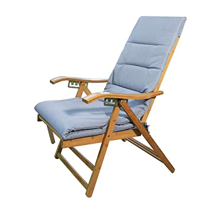 Amazon.com: MEIDUO Rocking Lounger Bamboo Recliner Home ...