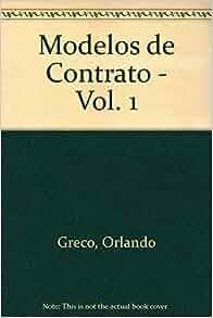 Modelos de Contrato - Vol. 1 (Spanish Edition): Orlando