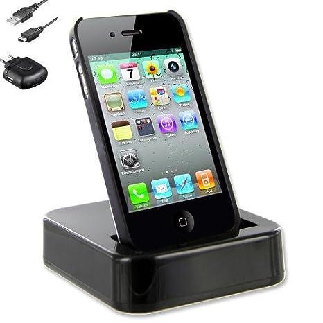 Wicked Bump Dock - Estación de carga para iPhone 4, 4S, IV y ...