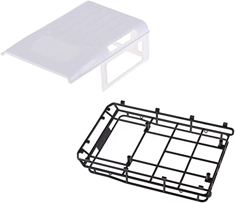 Plastic Car Roof With Rack Luggage Replacement Part Cover White