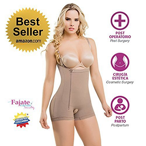 bdb9c5cfb Fajate Virtual Sensuality Colombian Post-Surgery Postpartum Body Shaper  Girdle  435 Thin Removable