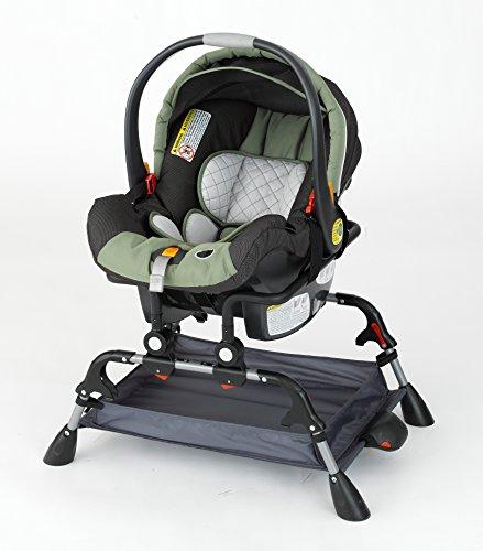 Phoenix Baby Goto Folding Carseat Station with Vibration, Black