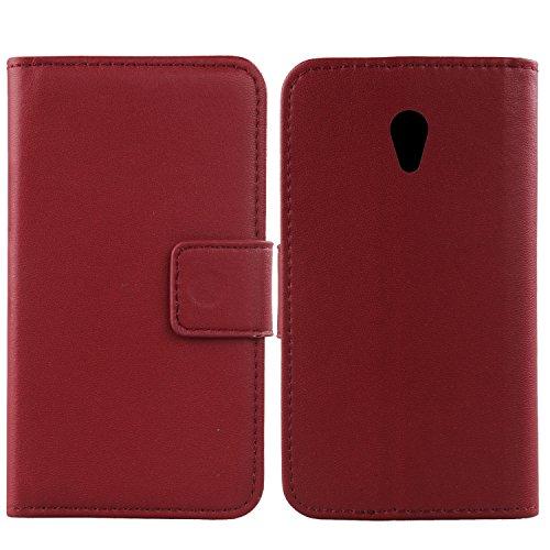 Gukas Design Genuine Leather Case For Alcatel U5 3G 4047D 4047F 5