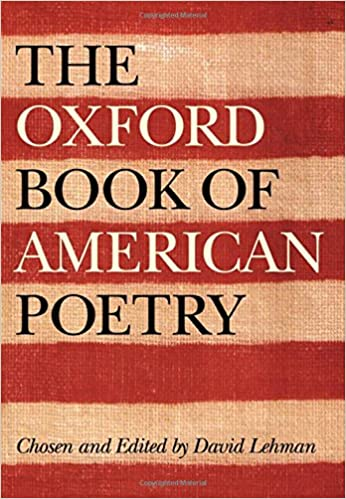 Poetry the oxford american pdf of book