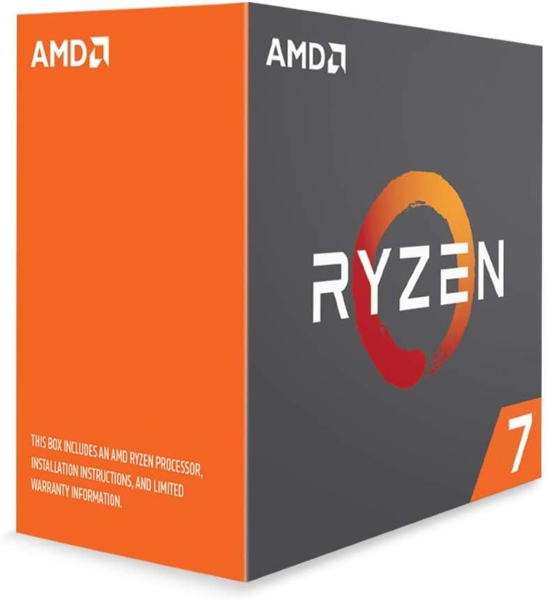 Amd Yd180xbcaewof Ryzen 7 1800x 8 Core 3 6 Ghz 4 0 Ghz Turbo Socket Am4 95w Desktop Processor Price In Uae Amazon Uae Kanbkam