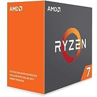 AMD YD180XBCAEWOF Procesador Ryzen 7 1800X, 3.4Ghz, Socket AM4, sin Disipador, 95W