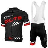 Arltb Cycling Jersey and Bib Shorts Set Bicycle Bike Short Sleeve Jersey...