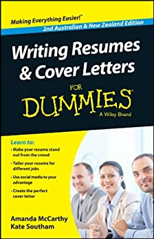 amazon com writing resumes and cover letters for dummies