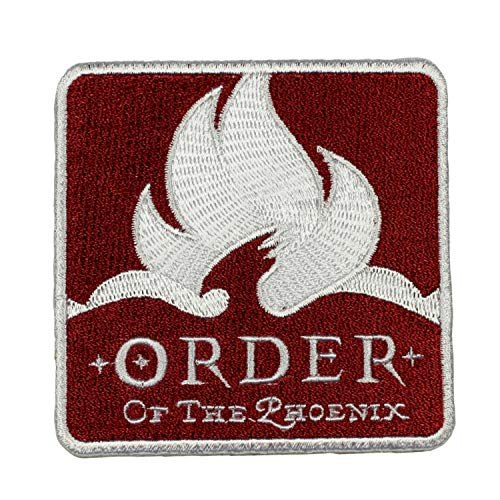 Harry Potter Order of The Phoenix Patch Badge Embroidered Iron On Applique]()