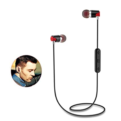 f0cac7f3ec4 JDA's Store M7 Bluetooth V4.1 Earphones Sweatproof Wireless Earbuds with  Mic Stereo Sound Magnet