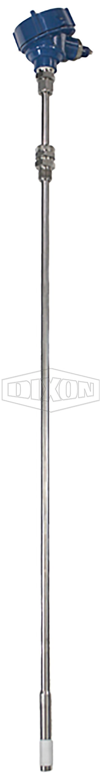 Dixon A200PHC96A ADS Spillguard Probe with  High Temperature Capacitance Sensor, 84'' Long, 1/2'' NPT Gland Standard