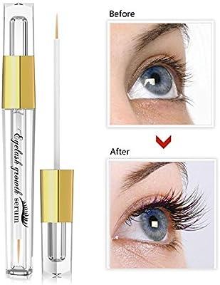 Eyelash Enhancer Hypoallergenic Natural Advanced Eyelash Growth Serum 5ml Eyelash Growth Conditioner Enhances for Natural Lush Eyelash Growth & Regrowth
