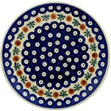 Polish Pottery Dessert Plate 7-inch Mosquito