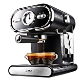 Coffee Machine, visualized Accurate Temperature Control 5-10 Cups Cappuccino Espresso Machine Independent Dual