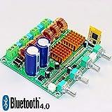FidgetFidget Amplifier Bluetooth 4.0 Digital 2.1 Class D HIFI Power Board 3CH Super Bass Amp