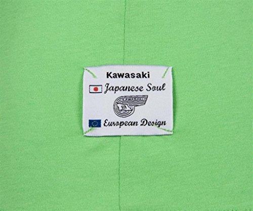 Kawasaki AKASHI T-Shirt kurzarm grün