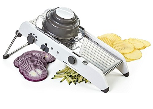 XM-Tech Smart Multifunctional Mandoline Slicer Kitchen Professional Vegetable Grater Adjustable Stainless Steel Cutter by XM-Tech