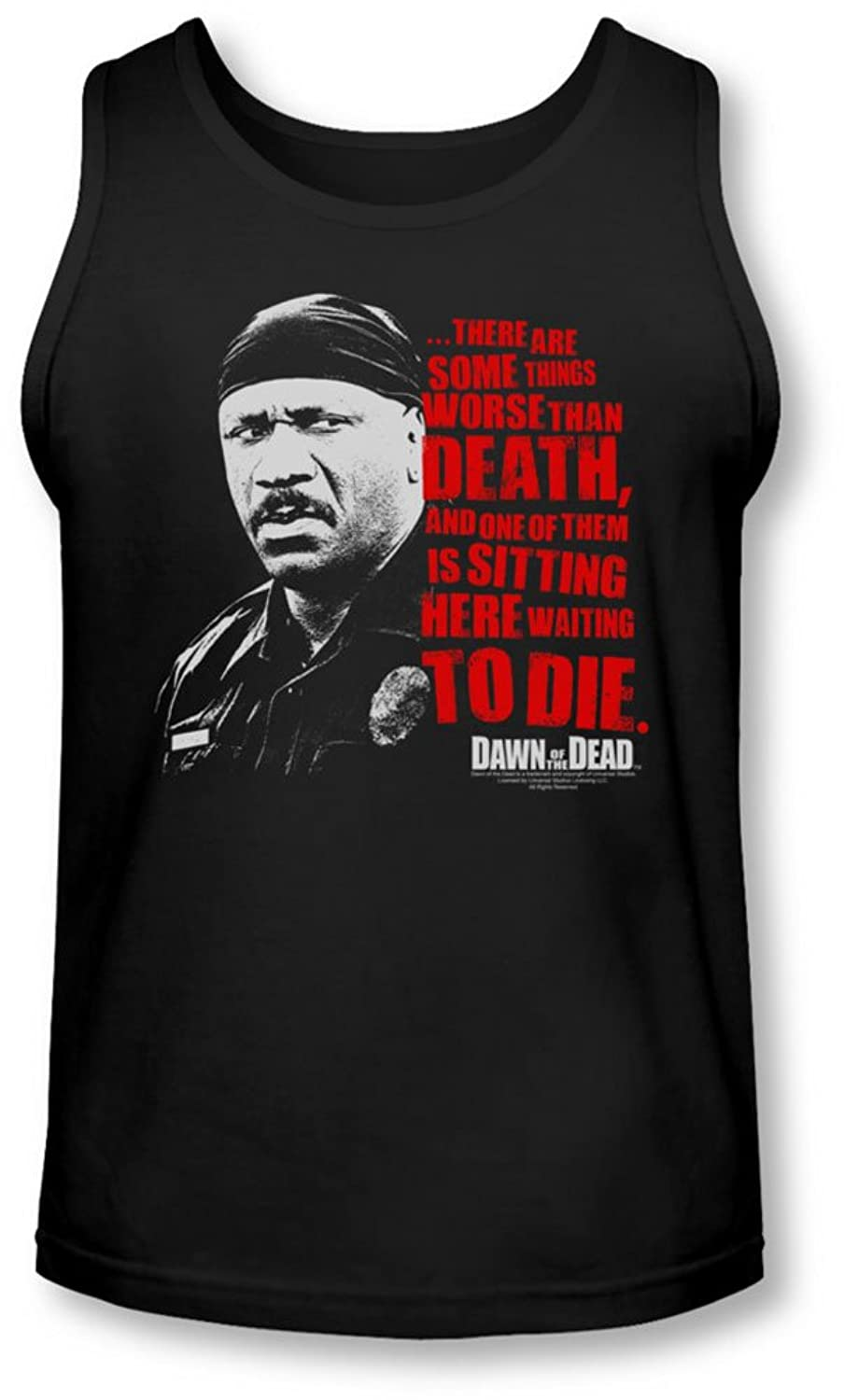 Dawn Of The Dead - Mens Worse Than Death Tank-Top