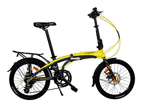 Camp 20' Folding Bike Shimano 16 Speed, Thunderbolt